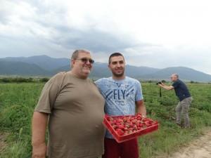 Иван Чубрин малини ягоди
